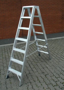Industrial Double Sided Step Ladders