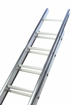 Industrial C Section Aluminium Extension Ladder-Three Section Push Up