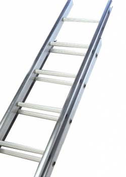 Industrial C Section Aluminium Ladder-Single Section