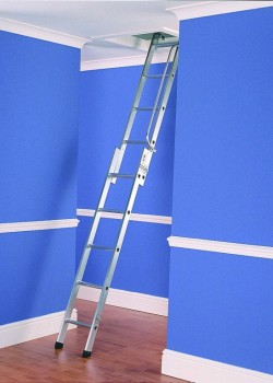 Two Section Aluminium Loft Ladder to BSEN14975