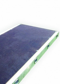 Aluminium Sided Staging Boards (450mm Wide)