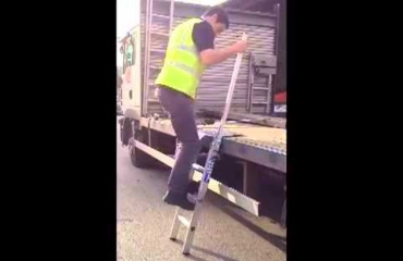 Loadstep Lorry Ladder