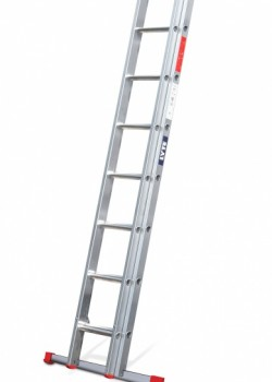 Non-Professional Aluminium Extension Ladder-Two Section Push Up to EN131-2