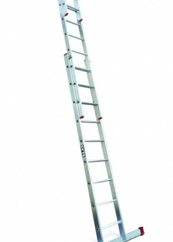 Non-Professional Aluminium Extension Ladder-Three Section Push Up to EN131-2