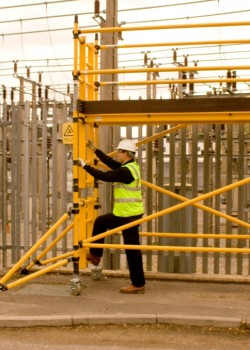 Boss Zone 1 Glass Fibre Industrial Modular Tower - Platform Size 1.80m x 1.45m