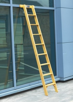 Timber Shelf Ladders to BS1129 Class 1