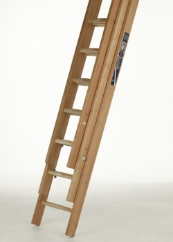 Trade Timber Ladder-Three Section Push Up