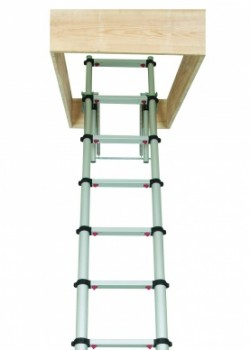 Zarges Loftmaster Telescopic Loft Ladder