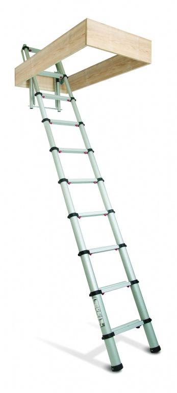 Zarges Loftmaster Telescopic Loft Ladder