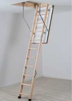 Dolle REI 45 Fire Rated Timber Loft Ladder