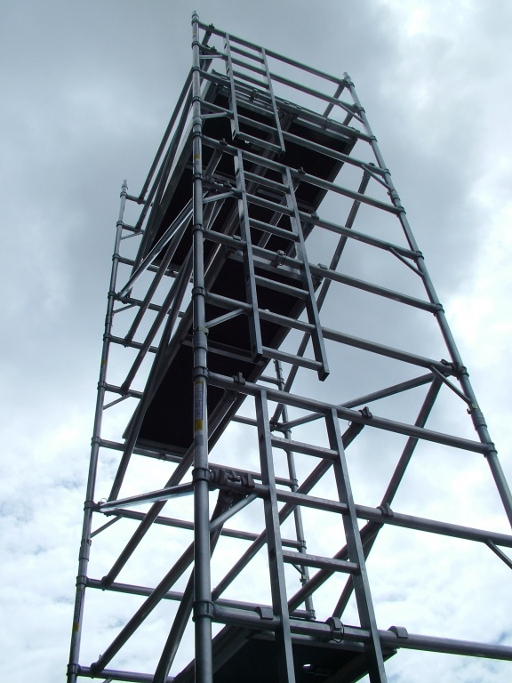 Aluminum Scaffold Tower : Hilyte t industrial aluminium scaffold tower