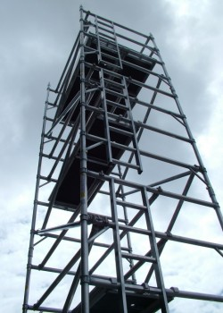 HiLyte 500 3T Industrial Aluminium Scaffold Tower (Platform Size 2.5m x 0.85m)