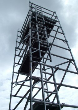 HiLyte 500 3T Industrial Aluminium Scaffold Tower (Platform Size 2.5m x 1.45m)