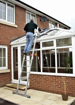 Easy-Dec Conservatory Ladder