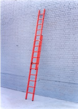 Euroglas All Glass Fibre Ladders-Three Section Push-Up