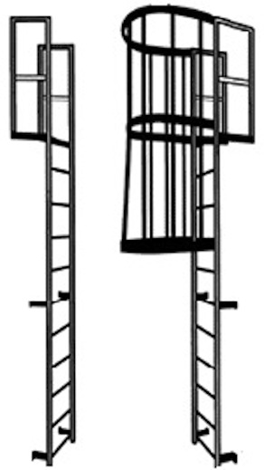 Stainless Steel Fixed Access Ladders