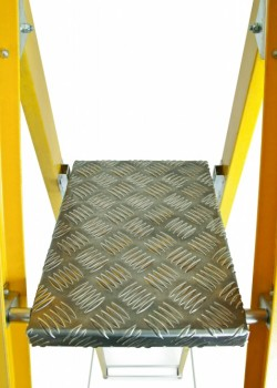 Heavy Duty Glass Fibre Professional Platform Steps to EN131-2