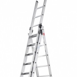 Hailo ProfiLOT Pedal Adjustment Combination Ladder to EN131