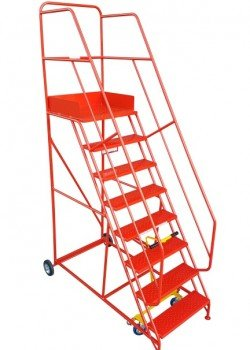 Heavy Duty Mobile Safety Steps - 500kg Safe Working Load