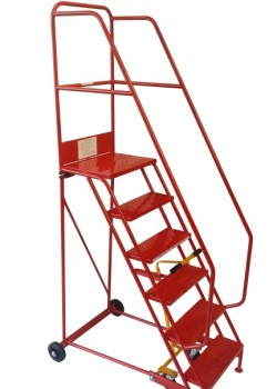 Knock Down Industrial Mobile Safety Steps