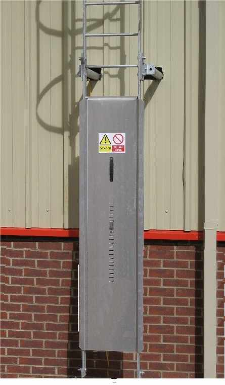 Ladder Guard Aluminium Or Galvanised Ladder Accessories