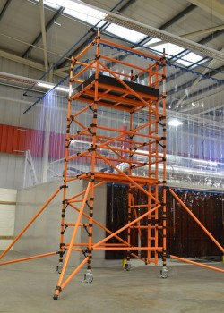 HiLyte Glass Fibre Mobile 3T Scaffold Tower (Platform Size 1.80m x 1.45m)