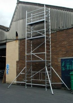 Lyte Industrial Folding Tower & Work Platform