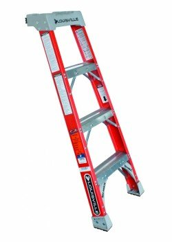 Glass Fibre Pro Shelf Ladder