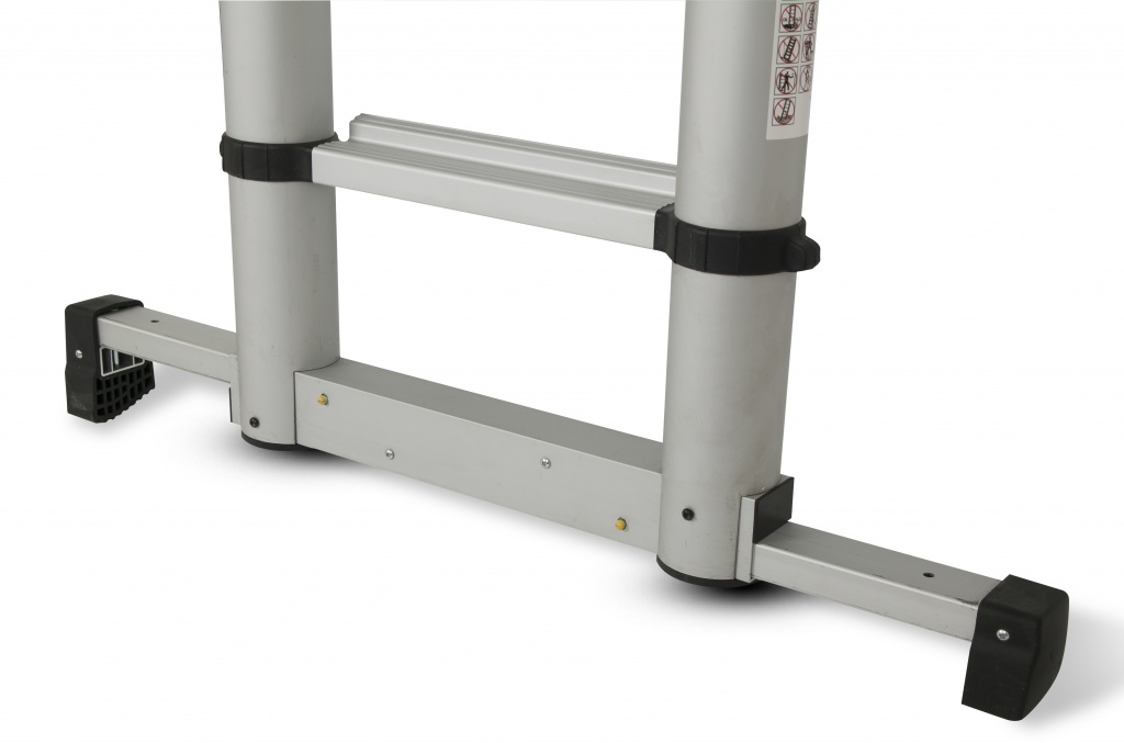 Lyte Up Telescopic Ladder With Stabiliser To En131 6