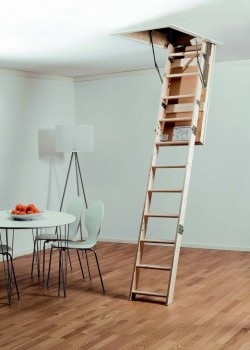 MidMade LEX30 Timber Loft Ladder