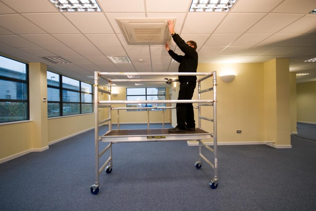 Indoor Scaffolding Platform : Working platforms