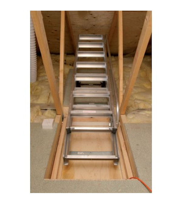loft ladders uk. spring counterbalanced sliding aluminium loft ladder ladders uk t