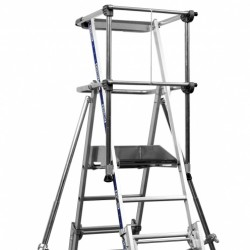 Sherpa Telescopic Step Ladder - Up t0 40% off