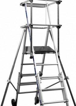 Sherpascopic Telescopic Step Ladder to EN131-7