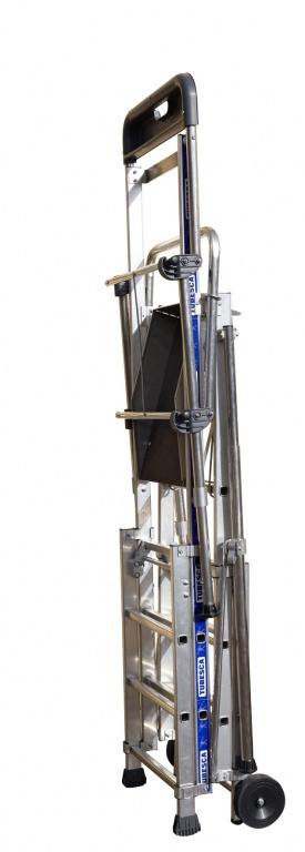 Telescoping Step Ladder : Sherpa telescopic step ladder