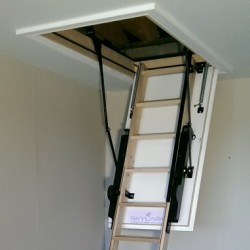 Skylark Electric Timber Loft Ladder-Special Offer
