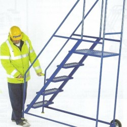 New Product-Tilt and Push Mobile Safety Steps