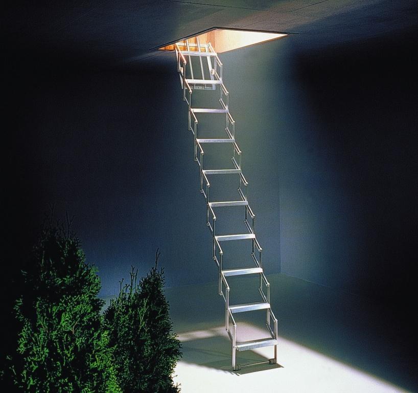 alufix concertina loft ladder. Black Bedroom Furniture Sets. Home Design Ideas