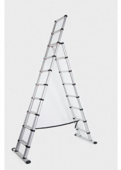 Telesteps Black Line Telescopic Combination Ladder to EN131