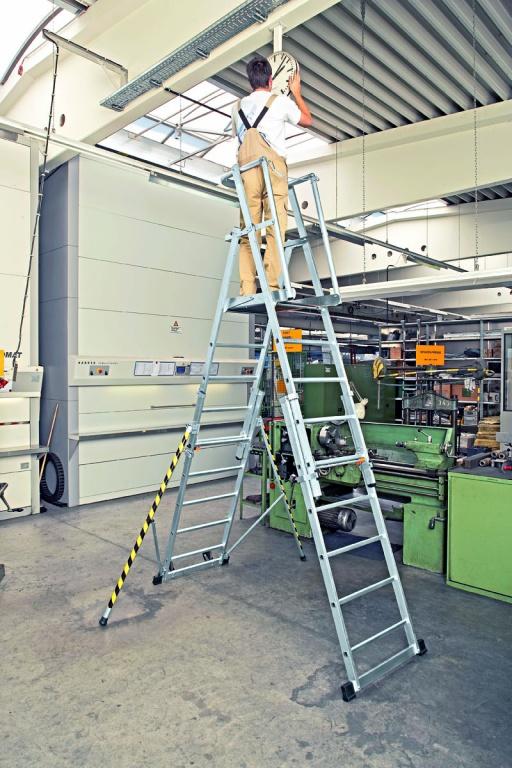 Ladder Scaffold Platform : Zap telescopic work platforms