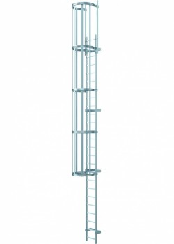 Galvanised Mild Steel Fixed Access Ladders